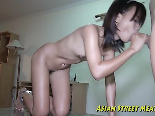 Small Tittie Thai Girl..