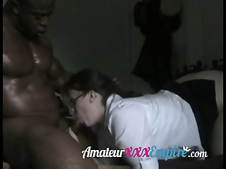 Teacher fucked by black dick
