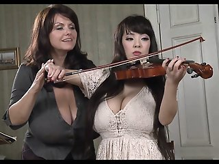 Busty Teacher Plays With..